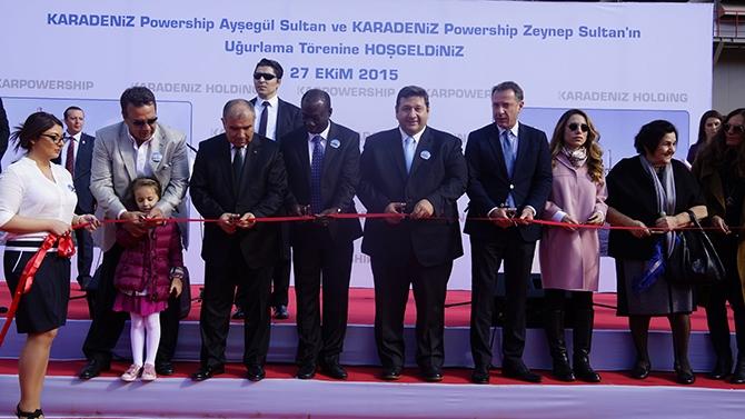 Karadeniz Holding'in yüzen santralleri uğurlandı galerisi resim 15