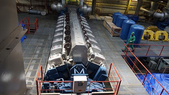 Karadeniz Holding'in yüzen santralleri uğurlandı galerisi resim 2