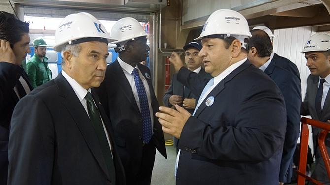 Karadeniz Holding'in yüzen santralleri uğurlandı galerisi resim 22