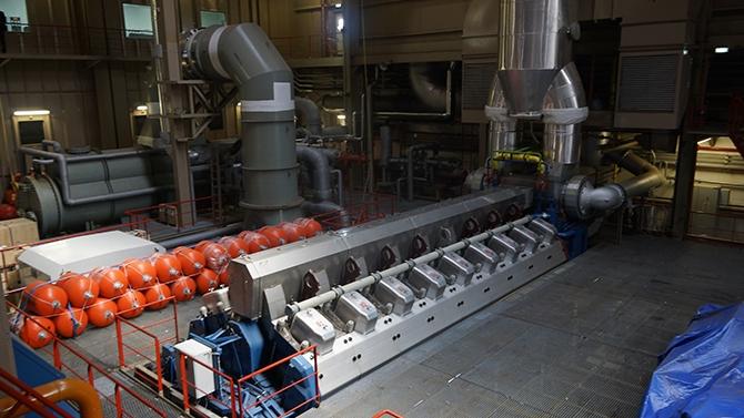 Karadeniz Holding'in yüzen santralleri uğurlandı galerisi resim 3