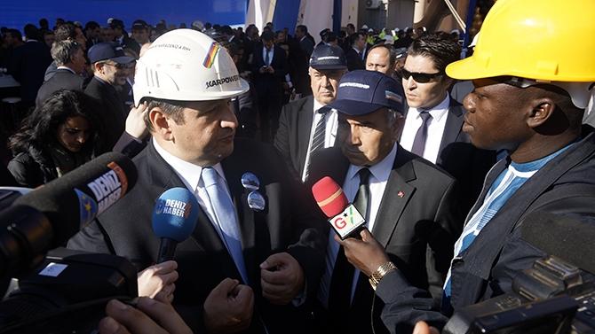 Karadeniz Holding'in yüzen santralleri uğurlandı galerisi resim 5