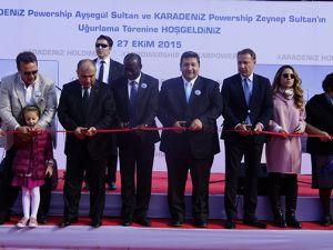 Karadeniz Holding'in yüzen santralleri uğurlandı