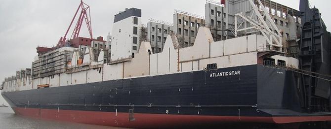 Çin'in inşa ettiği dünyanın en büyük Con-Ro gemisi sefere başlıyor galerisi resim 1