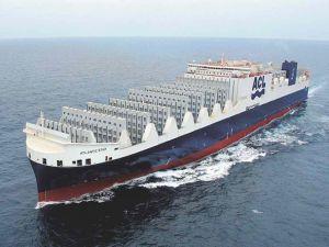 Çin'in inşa ettiği dünyanın en büyük Con-Ro gemisi sefere başlıyor