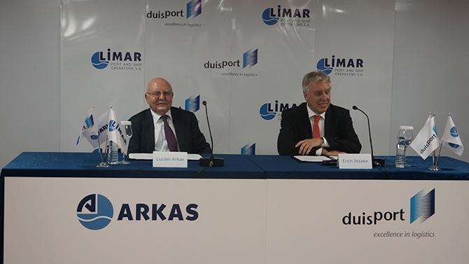 Arkas ve Duisport intermodal lojistik terminali için ortaklık kurdu galerisi resim 1