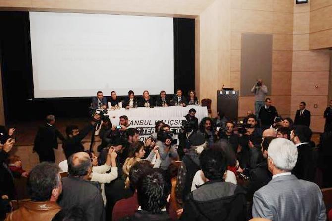 Haliçport toplantısında protesto galerisi resim 1