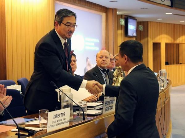 Ki Tack-Lim'in IMO Genel Sekreterliği onaylandı galerisi resim 1