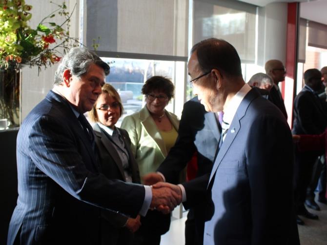 BM Genel Sekreteri Ban Ki-Moon, IMO'yu ziyaret etti galerisi resim 1