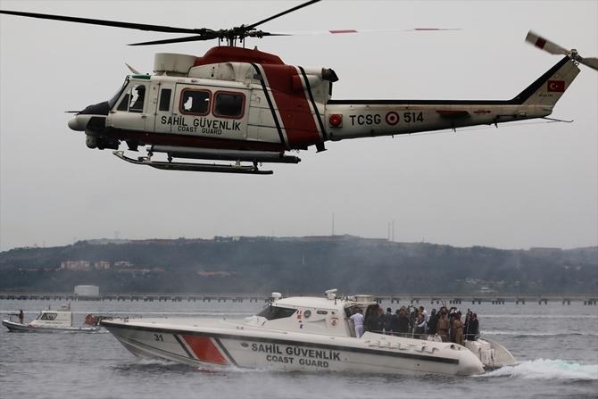 BOTAŞ Limanı'nda terör saldırılarına müdahale tatbikatı düzenlendi galerisi resim 1