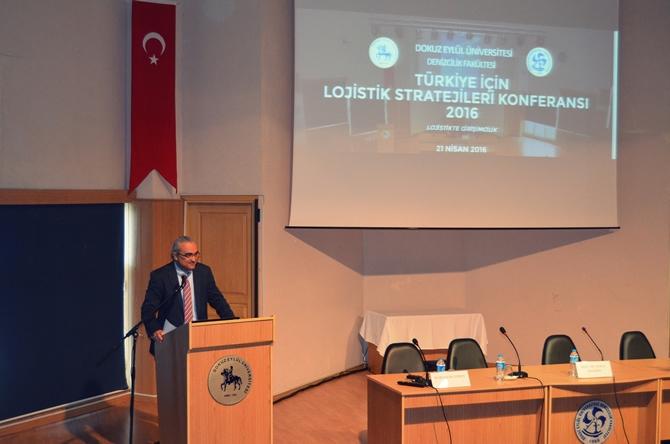 Lojistik Stratejileri Konferansı DEÜ'de yapıldı galerisi resim 1