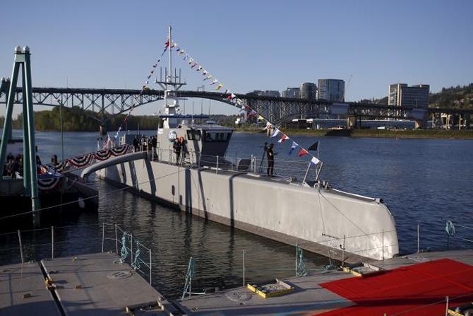 ABD'de inşa edilen Sea Hunter adlı insansız geminin testleri başlad galerisi resim 1