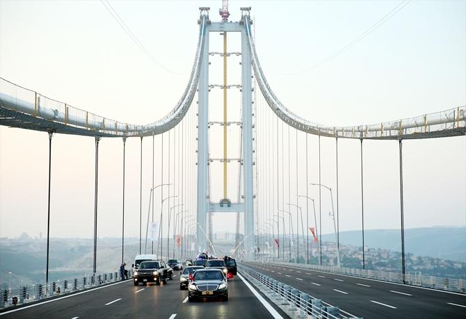 Körfez'in gerdanlığı Osmangazi Köprüsü açıldı galerisi resim 1