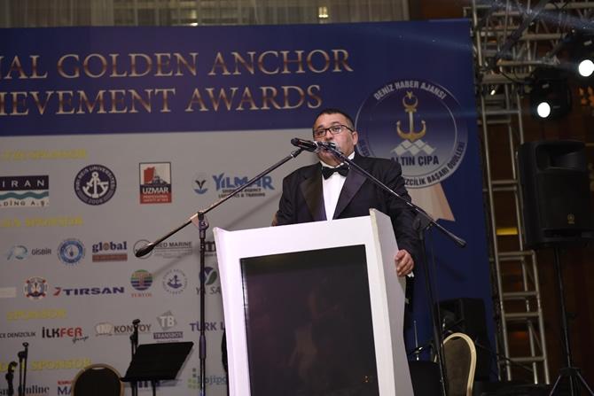 Altın Çıpa Denizcilik Ödülleri sahipleriyle buluştu galerisi resim 1