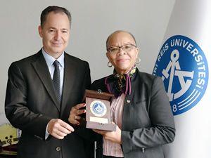 WMU Rektörü, Piri Reis Üniversitesi'ni ziyaret etti