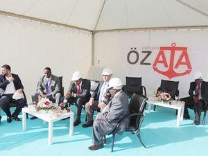 Özata Tersanesi, Kenya Ferry Services'e arabalı vapur inşa edecek