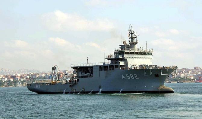TCG Alemdar, Deniz Kuvvetleri Komutanlığı'na teslim edildi galerisi resim 1