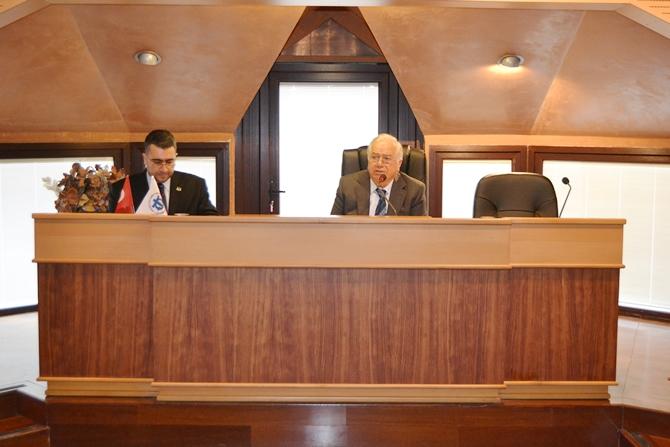 İMEAK DTO Şubat Ayı Olağan Meclis Toplantısı yapıldı galerisi resim 1