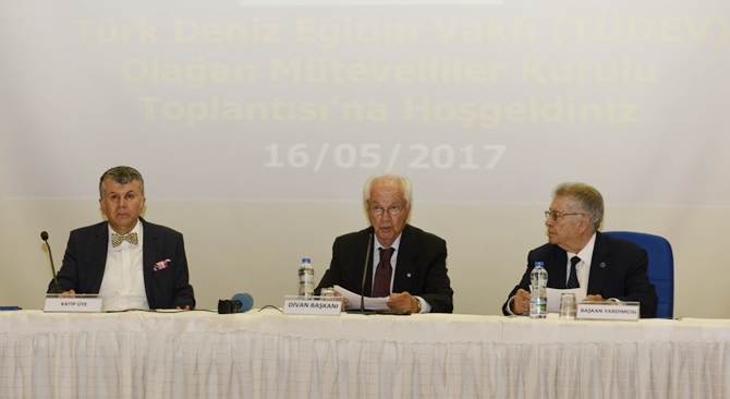 Türk Deniz Eğitim Vakfı Olağan Genel Kurulu yapıldı galerisi resim 4