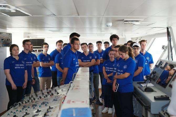 T/S SAMSUN Eğitim Gemisi Zeyport'tan yola çıktı galerisi resim 12