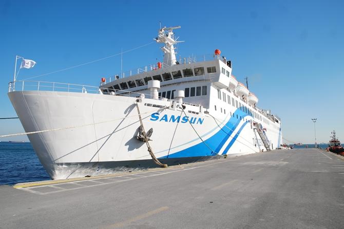 T/S SAMSUN Eğitim Gemisi Zeyport'tan yola çıktı galerisi resim 15