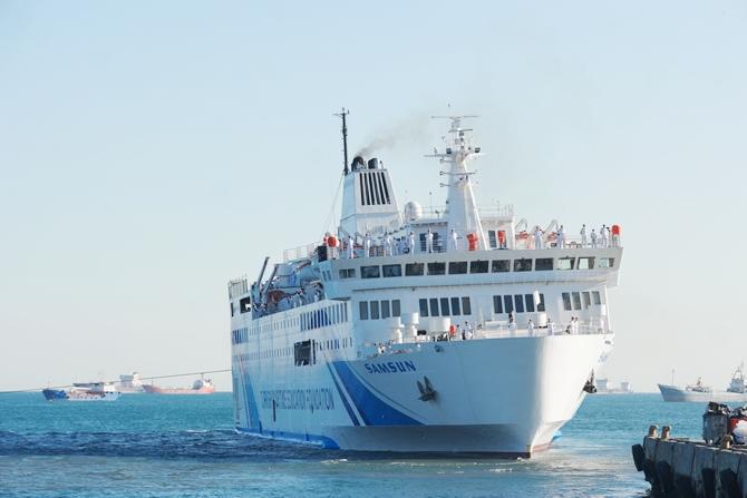 T/S SAMSUN Eğitim Gemisi Zeyport'tan yola çıktı galerisi resim 24