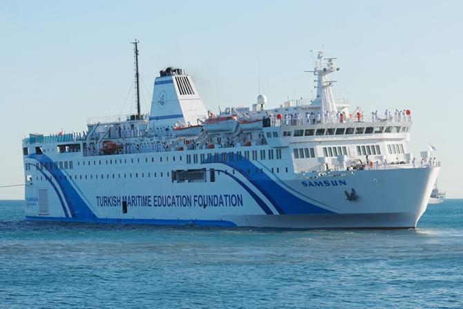 T/S SAMSUN Eğitim Gemisi Zeyport'tan yola çıktı galerisi resim 27