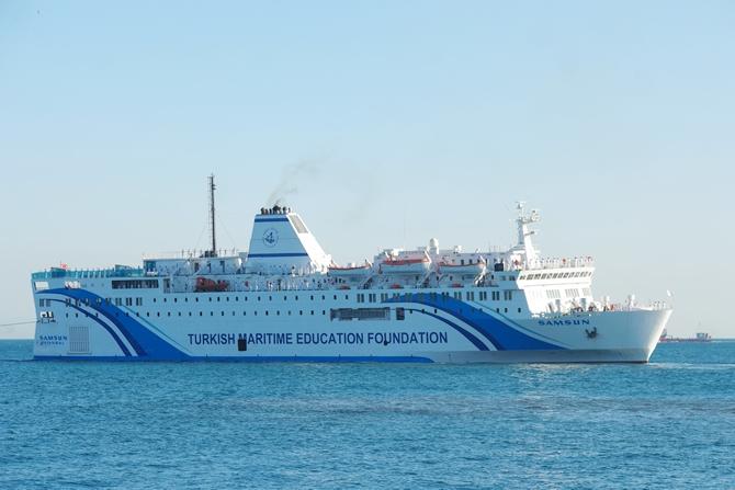 T/S SAMSUN Eğitim Gemisi Zeyport'tan yola çıktı galerisi resim 29