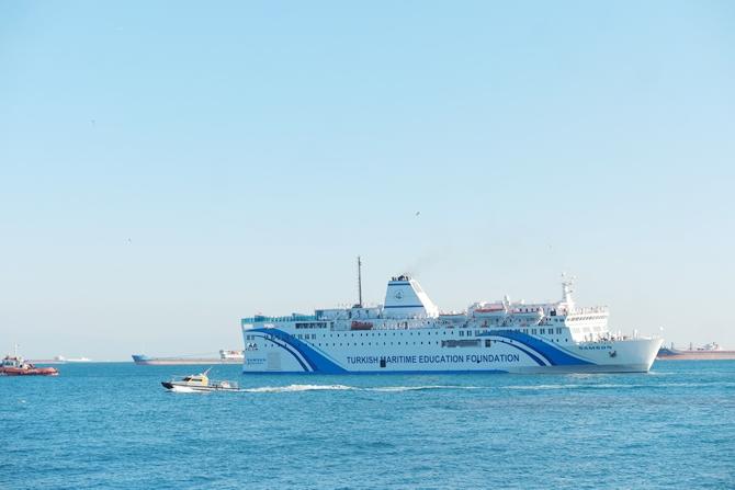 T/S SAMSUN Eğitim Gemisi Zeyport'tan yola çıktı galerisi resim 30