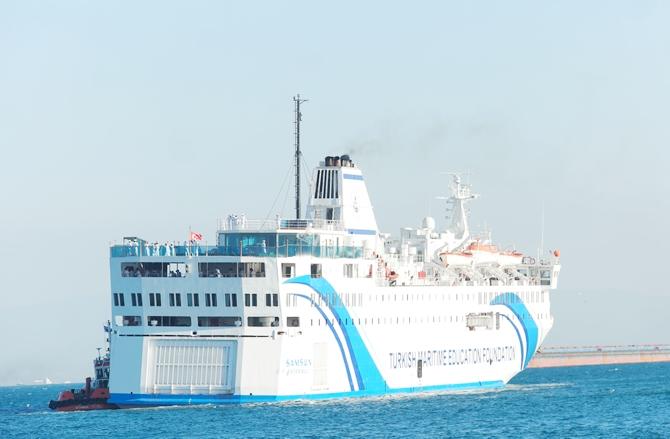 T/S SAMSUN Eğitim Gemisi Zeyport'tan yola çıktı galerisi resim 33