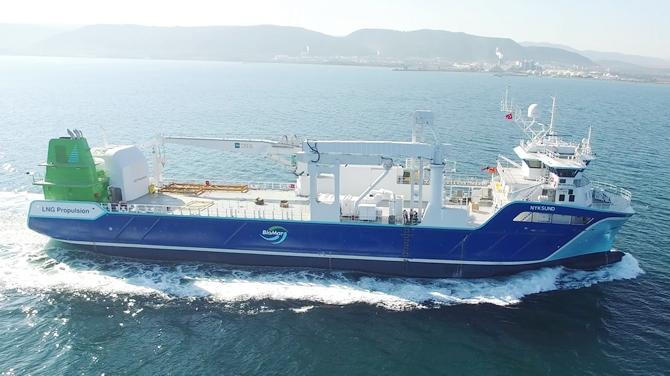Tersan, M/S NYKSUND isimli gemisini teslim etti galerisi resim 1