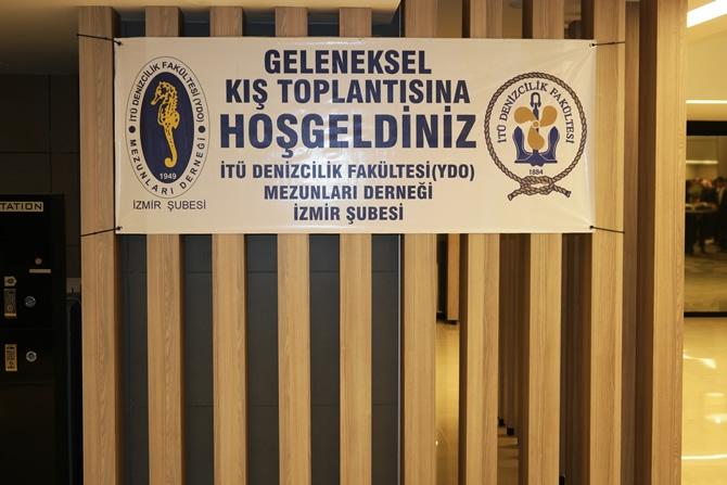 """İTÜ DEFAMED """"Geleneksel Kış Toplantısı"""" 27. kez İzmir'de  galerisi resim 1"""