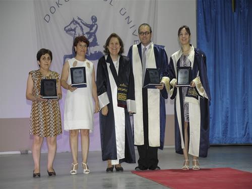 DEÜ Denizcilik Fakültesi'nde mezuniyet sevinci galerisi resim 14