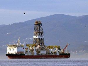 Türkiye'nin ilk sondaj gemisi Marmara Denizi'nde