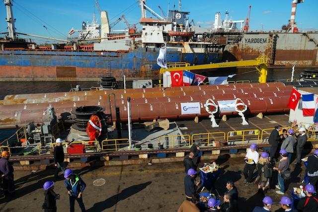 Hidrodinamik Tersanesi Jack-up Platformu'nu teslim etti galerisi resim 34