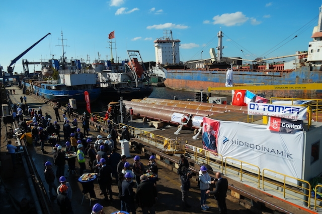 Hidrodinamik Tersanesi Jack-up Platformu'nu teslim etti galerisi resim 39