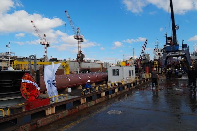 Hidrodinamik Tersanesi Jack-up Platformu'nu teslim etti galerisi resim 51
