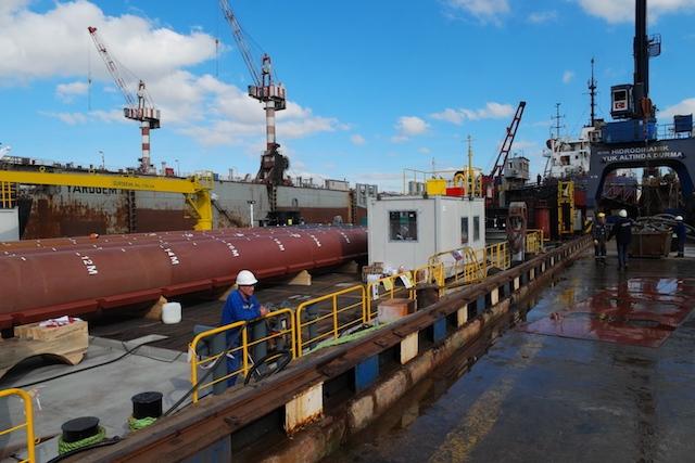 Hidrodinamik Tersanesi Jack-up Platformu'nu teslim etti galerisi resim 52