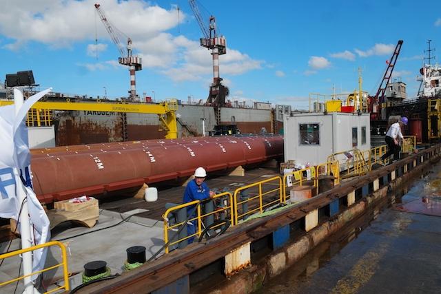 Hidrodinamik Tersanesi Jack-up Platformu'nu teslim etti galerisi resim 53