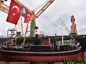 Kartal İstimbotu, Deniz Kuvvetleri Komutanlığı'na teslim edildi