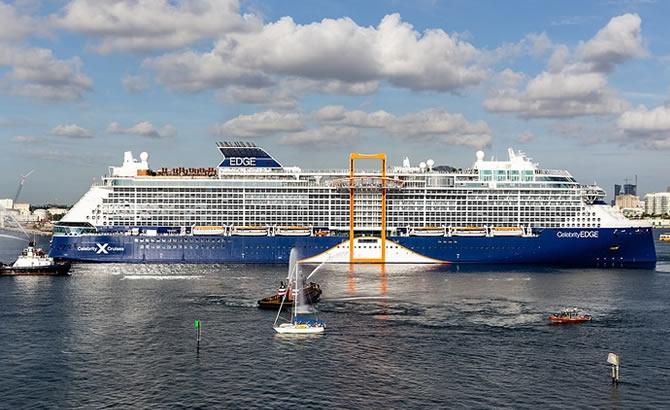 Dünyanın en lüks gemisi Celebrity Edge, ilk seferine çıkacak galerisi resim 2