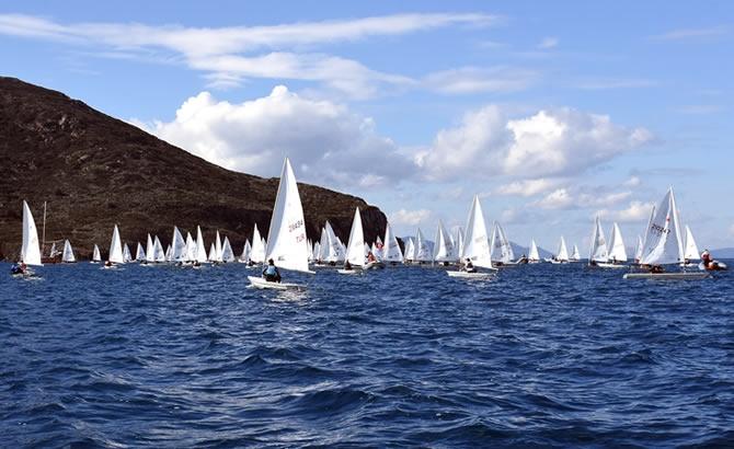 Türkiye Yelken Federasyonu Kış Kupası Yarışları başladı galerisi resim 1