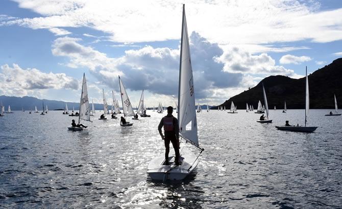 Türkiye Yelken Federasyonu Kış Kupası Yarışları başladı galerisi resim 14