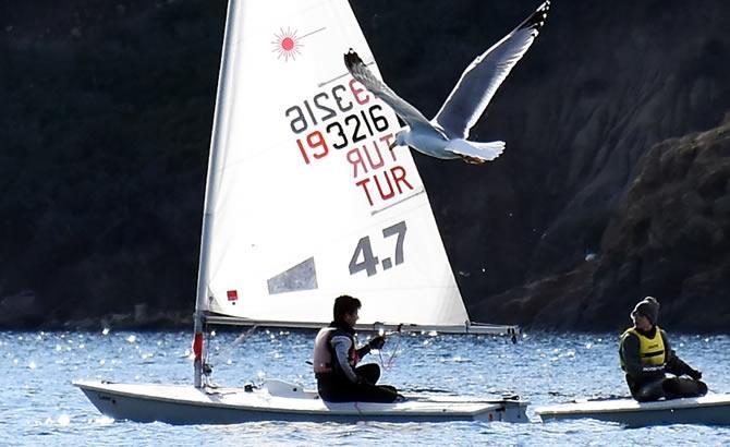 Türkiye Yelken Federasyonu Kış Kupası Yarışları başladı galerisi resim 15