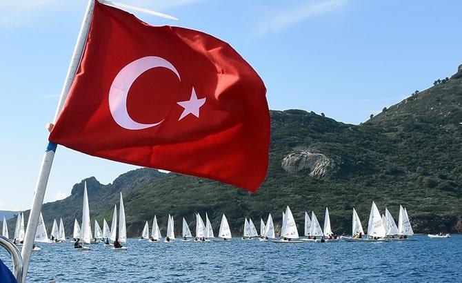 Türkiye Yelken Federasyonu Kış Kupası Yarışları başladı galerisi resim 16