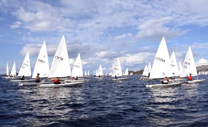 Türkiye Yelken Federasyonu Kış Kupası Yarışları başladı galerisi resim 2