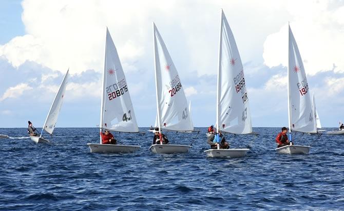 Türkiye Yelken Federasyonu Kış Kupası Yarışları başladı galerisi resim 5