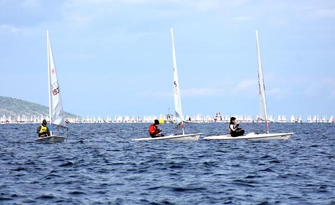 Türkiye Yelken Federasyonu Kış Kupası Yarışları başladı galerisi resim 7