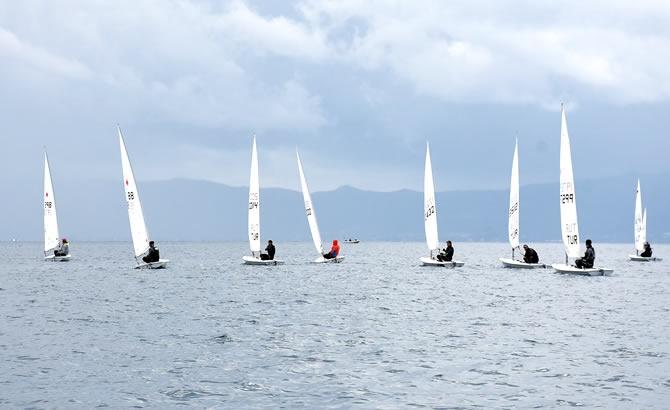Türkiye Yelken Federasyonu Kış Kupası Yarışları başladı galerisi resim 8