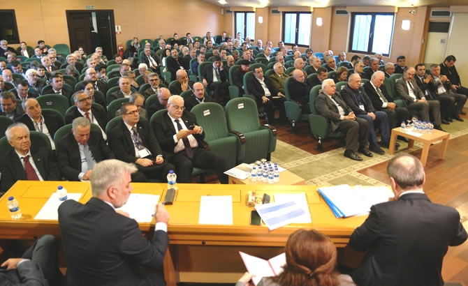 İMEAK DTO Şubat Ayı Meclis Toplantısı yapıldı galerisi resim 5
