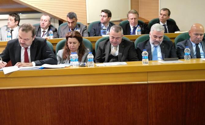 İMEAK DTO Şubat Ayı Meclis Toplantısı yapıldı galerisi resim 7